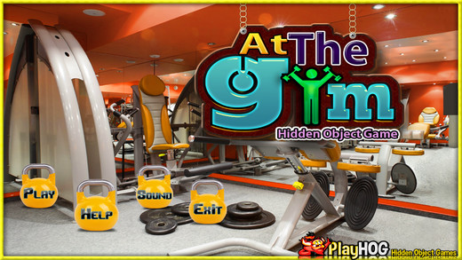 At the Gym Hidden Objects Game