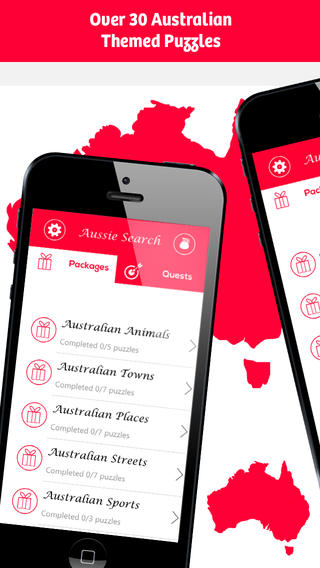 Aussie Search - Ultimate Australian Word Search