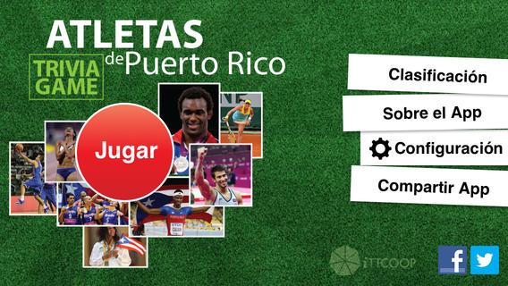 Atletas de Puerto Rico - Trivia Game