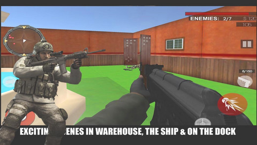 Attack Terrorist Kill 3D