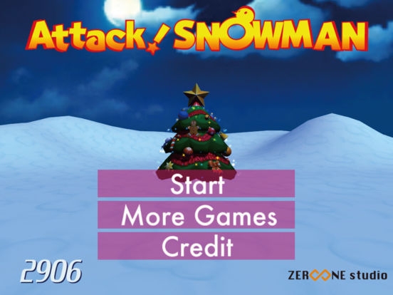 AttackSnowman