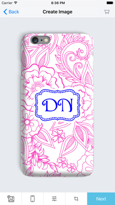 Aroopy Adult Coloring with Custom Monogram Prints