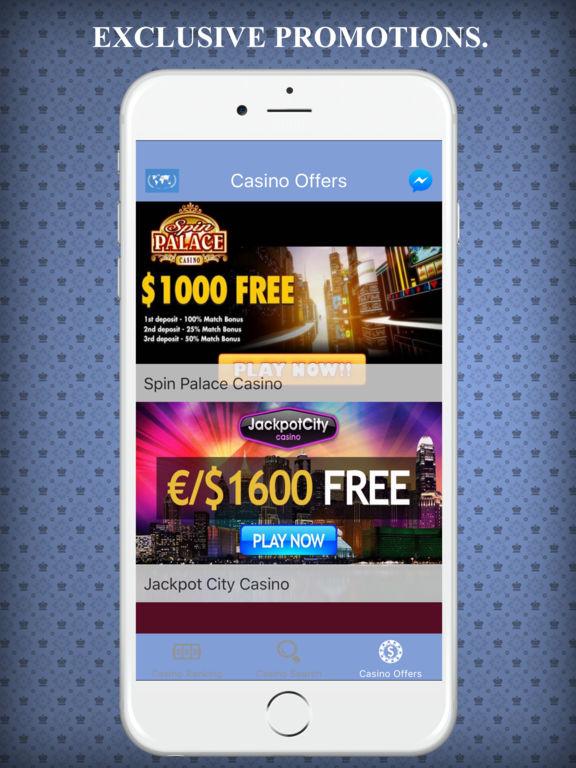 Australia Online Casino, Gambling List