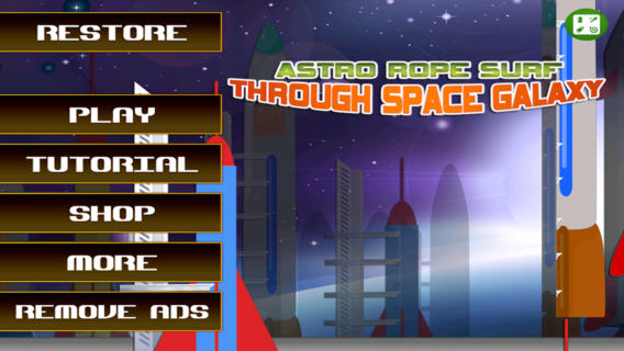 Astro Rope Surf Through Space Galaxy - A Fun Astronaut Boy Adventure Game to Save the Mother Earth
