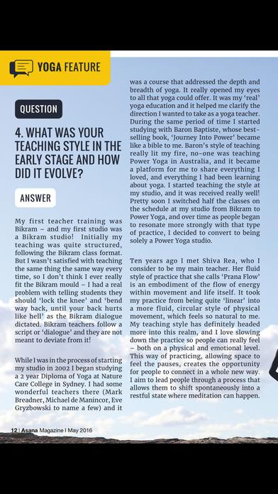 Asana  International Yoga Journal