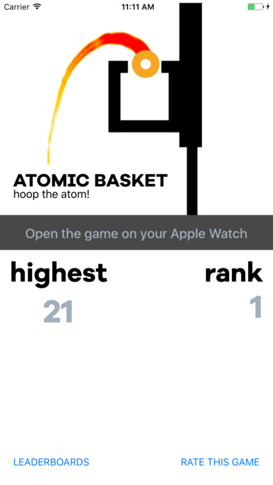 AtomicBasket Arcade, game for Watch