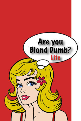 Are You Blond Dumb?  (Lite)