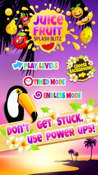 Alluring Juicy Fruity Splash Blitz Game  FREE