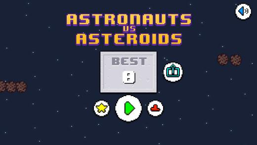 Astronauts vs Asteroids