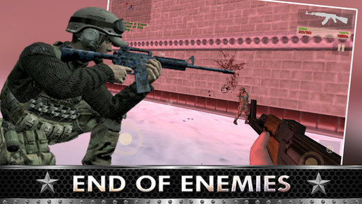 Assassin Mission Shooting