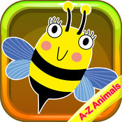 Animals Vocabulary Phonic Flashcards for Kids 1.0.0