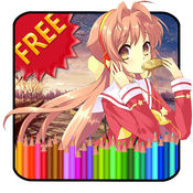 Anime Coloring Book HD