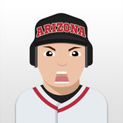 Arizona Baseball Stickers & Emojis 1