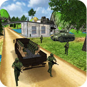Army Truck Cargo Transport