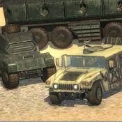 Army Vehicle Military Base Driving Simulation