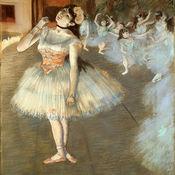 ART slide Puzzle Degas Ballet painting Puzzles