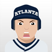 Atlanta Baseball Stickers  Emojis