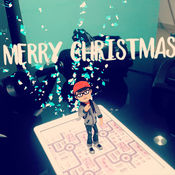 Augmented Merry Christmas! 1