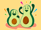Avocado Party > Cool Stickers 1
