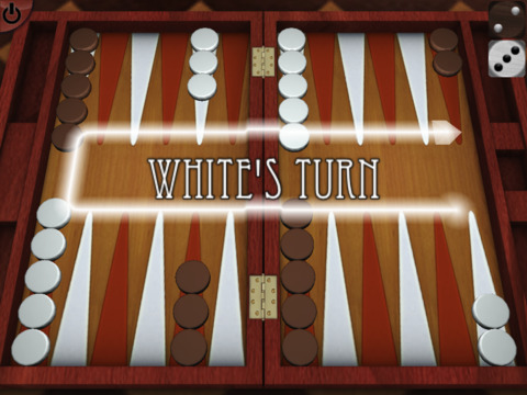 ArtDeco Backgammon 3D