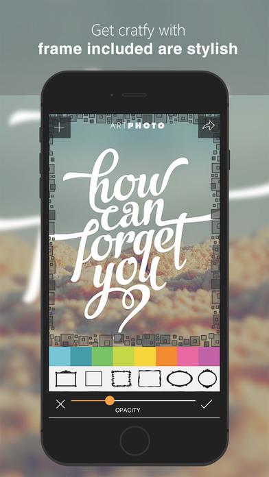 Art Photos - Cool Smart Photo Editor & Collage Pro