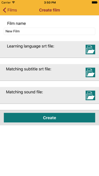 Audire - Audio player for learning languages