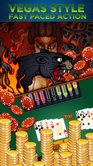 Awesome Demon Casino Slots - Real Mega Monster Vegas Slot Machines