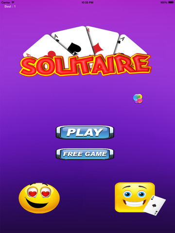 A Awesome Emoji Solitaire