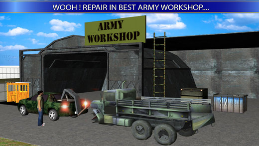 Army Base: Truck Workshop