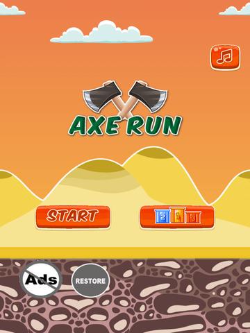 Axe Run - Max The Lumber Jack Timberman