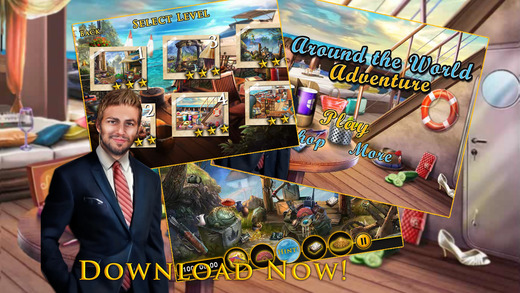 Around the World Mystery - Free Hidden Objects Game