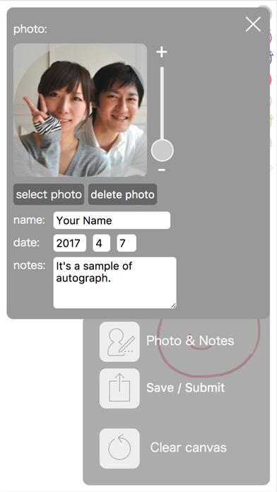 Autograph app