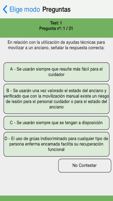 Auxiliar Enfermeria Test Oposiciones