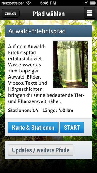 Auwald-Erlebnispfade