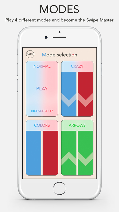 Arrows - A game about swiping