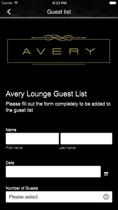 Avery Lounge