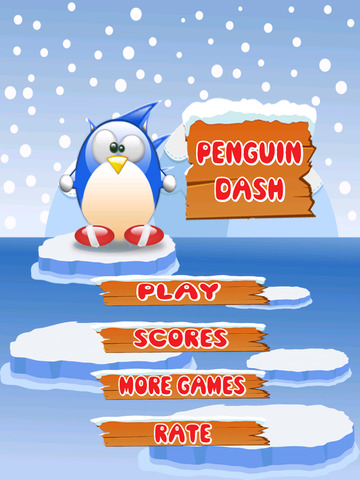 A Arctic Blast Penguin Run