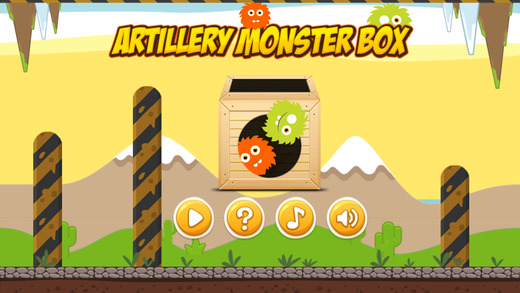 Artillery Monster Box FREE - Physics Puzzle Game