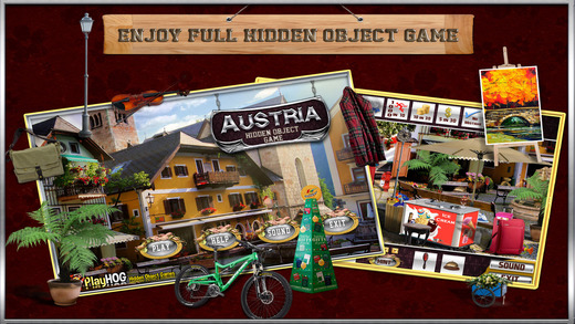 Austria - Hidden Objects Secret Mystery Adventures