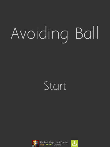 Avoiding Ball