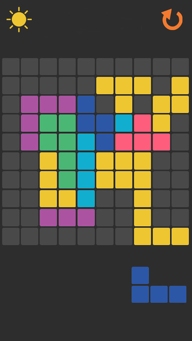 Arrange The Colored Blocks Puzzle Game