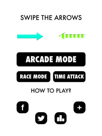 Arrows Swipe Challenges - Arcade Master Challenges