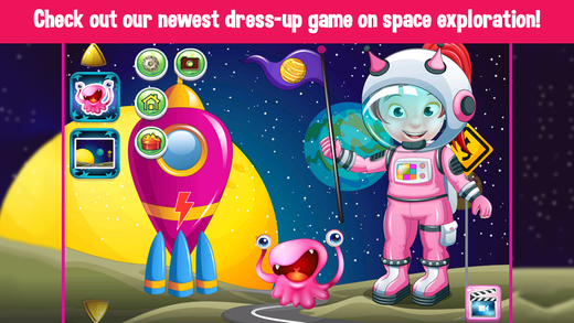 Astronaut Space Girl DressUp Games For Grils