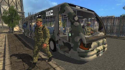 Army Bus Driver Simulator