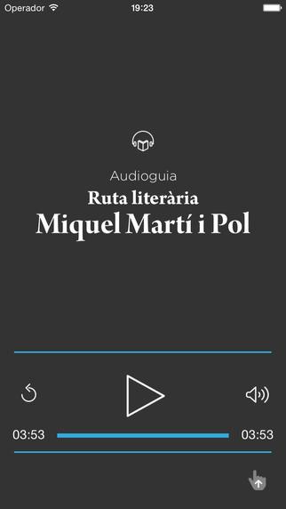 Audioguia Miquel Martí i Pol