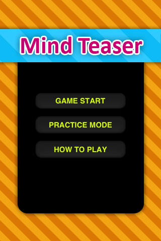 Awesome Mind Teaser (FREE)