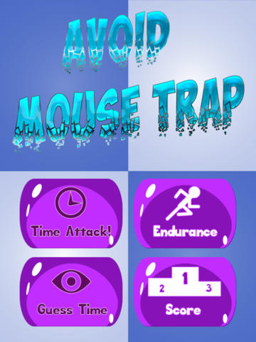 Avoid Mousetraps - Be a Hero!