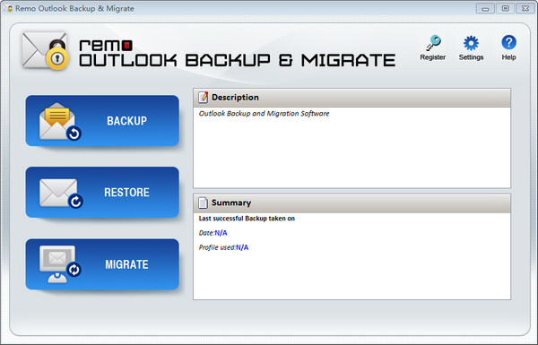 Outlook备份和迁移软件|Remo Outlook Backup and Migrate