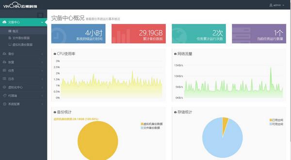 云祺虚拟机备份与恢复软件 V3.5.2710官方版