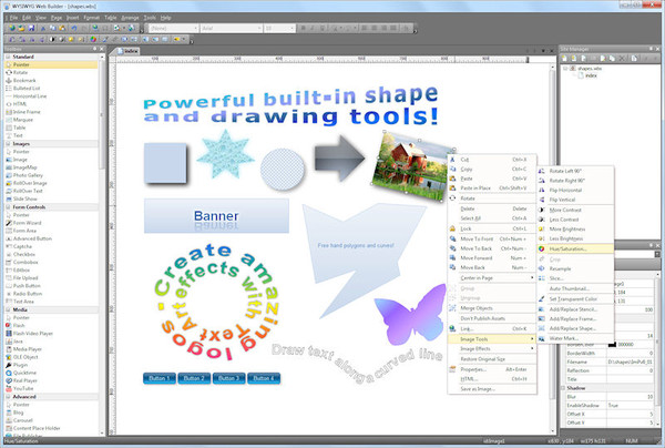 WYSIWYG Web Builder(网页生成工具)
